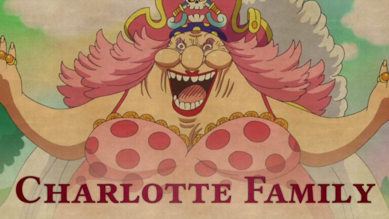 One Piece Charlotte Family